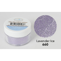 Elizabeth Craft Designs Silk Microfine Glitter 8gm Lavender Ice