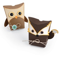 Sizzix Thinlits Die Owl & Fox Box 7pc