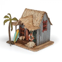Sizzix Bigz Die Village Surf Shack by Tim Holtz