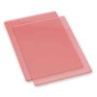 Sizzix Big Shot Standard Cutting Pads Coral Pair (B Plates)