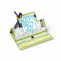 Sizzix Framelits Die Stand Ups Square 28pc Set by Stephanie Barnard