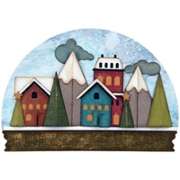 Sizzix Thinlits Die Snowglobe 21pc by Tim Holtz
