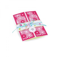 Sizzix Thinlits Die Half Card Panels 3pc by Stephanie Barnard