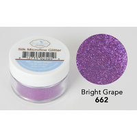 Elizabeth Craft Designs Silk Microfine Glitter 8gm Bright Grape