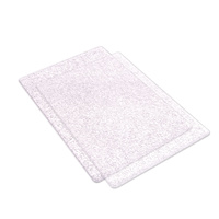 Sizzix Big Shot Standard Cutting Pads Clear with Silver Glitter Pair (B Plates)