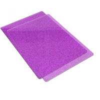 Sizzix Big Shot Standard Cutting Pads Purple with Silver Glitter Pair (B Plates)