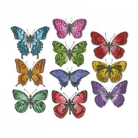 Sizzix Framelits Die Flutter By 20pc by Tim Holtz