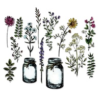 Sizzix Framelits Die Flower Jar 23pc by Tim Holtz