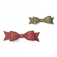 Sizzix Thinlits Die Fold Up Bows by Tim Holtz