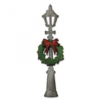 Sizzix Bigz Die Lamp Post by Tim Holtz