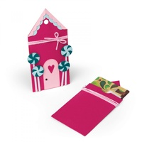 Sizzix Bigz Die Gingerbread Gift Card Holder by Jen Long