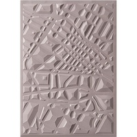 Sizzix 3D Textured Impressions Embossing Folder Map by Courtney Chilson