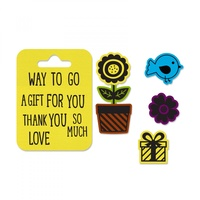 Sizzix Framelits Die & Stamp Set A Gift For You