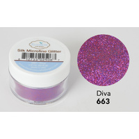 Elizabeth Craft Designs Silk Microfine Glitter 8gm Diva