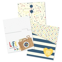 SIMPLE STORIES LIFE DOCUMENTED ENVELOPE & POCKET INSERTS