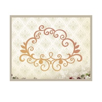 Couture Creations Die It's a Beautiful Life Flourish Outline 116.8x85.5mm