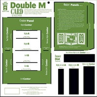 Hot Off The Press Template Double M Card