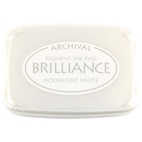 BRILLIANCE MOONLIGHT WHITE STAMP PAD
