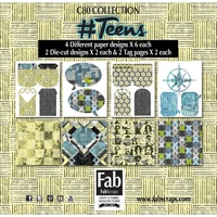 FABSCRAPS # TEENS JOURNAL PACK
