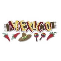 JOLEES   MEXICO TITLE STICKER