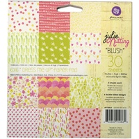 "Prima 6x6"" Double Sided Paper Pad Blush 30pg by Julie Nutting"