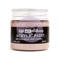 Prima Art Alchemy Acrylic Paint Metallique Soft Satin 1.7oz by Finnabair