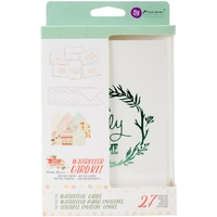 Prima Watercolour Card Kit Sweet Peppermint