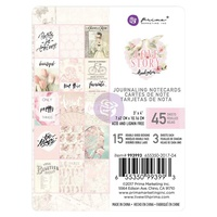 "Prima Love Story 3x4"" Journaling Cards Pad 45pg"