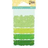 Jillibean Soup Sequins Greens Shakers