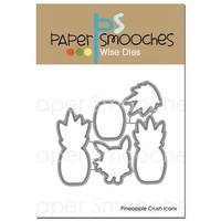 Paper Smooches Die Pineapple Crush Icons