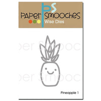 Paper Smooches Die Pineapple #1