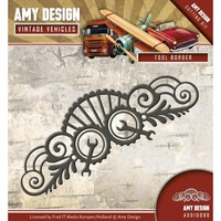 Find It Trading Die Vintage Vehicles Tool Border by Amy Design