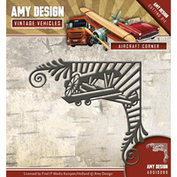 Find It Trading Die Vintage Vehicles Aircraft Corner by Amy Design