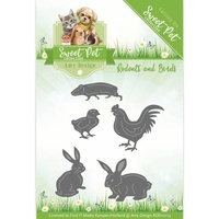 Find It Trading Sweet Pet Die Rodents & Birds by Amy Design