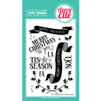 Avery Elle Clear Stamp & Die Bundle Fa La La