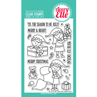 Avery Elle Clear Stamp & Die Bundle Elf-tacular