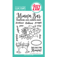 Avery Elle Clear Stamp & Die Bundle Mimosas