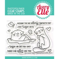 Avery Elle Clear Stamp Set Otterly Fantastic