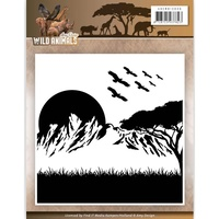 Find It Trading Wild Animals Embossing Folder by Amy Design