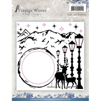 Find It Trading Vintage Winter Cut & Embossing Folder