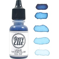 Avery Elle Liquid Watercolour Sapphire 0.5oz