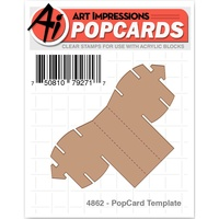 Art Impresions PopCard Template