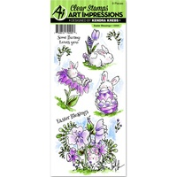 Art Impressions Stamp Easter Blessings