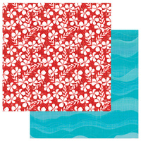 "PhotoPlay Paper Aloha 12x12"" Paper Salty Ocean"
