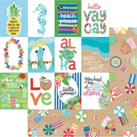 "PhotoPlay Paper Aloha 12x12"" Paper Just Beachy"