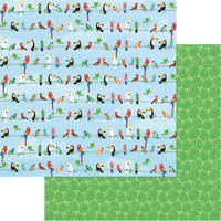 "PhotoPlay Paper Aloha 12x12"" Paper Parrot Bay"