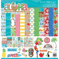 "PhotoPlay Paper Aloha 12x12"" Collection Pack"