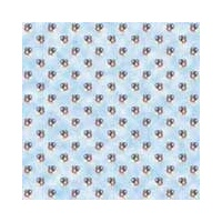 Print Blocks Paper Balloon Pattern On Blue Clouds