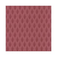 Print Blocks Paper Paisley On Bordeaux