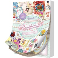 Hunkydory The Bigger Book of Toppers Birthdays